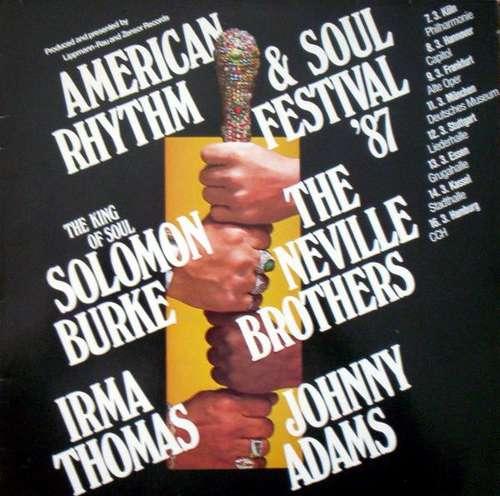 Cover zu Various - American Rhythm & Soul Festival '87 (LP, Comp) Schallplatten Ankauf