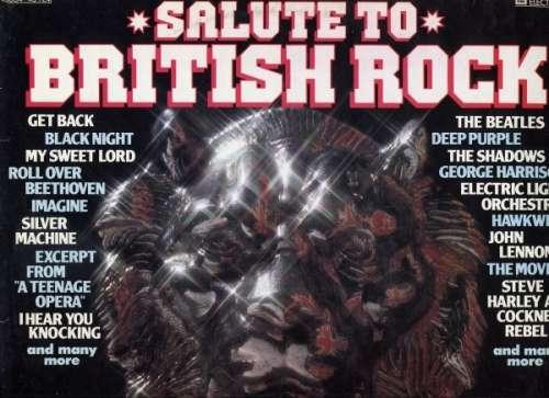 Bild Various - Salute To British Rock (LP, Comp) Schallplatten Ankauf