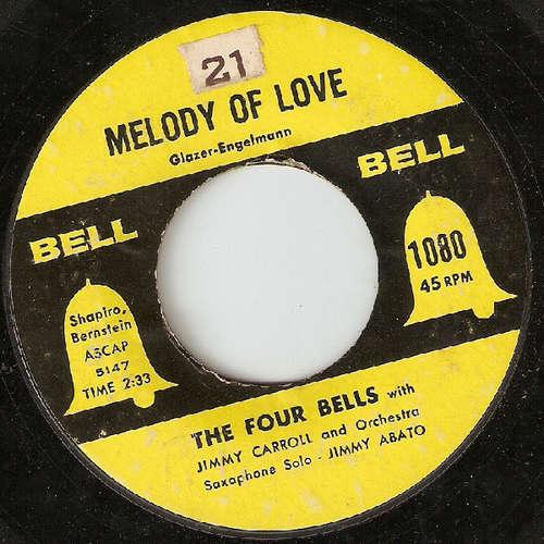 Bild The Four Bells / The Three Belles - Melody Of Love / Hearts Of Stone (7, Single) Schallplatten Ankauf
