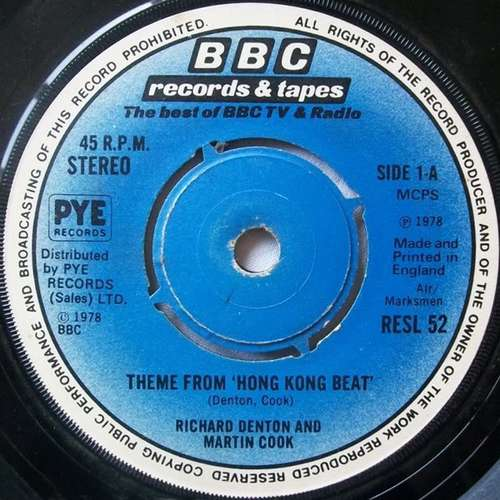 Cover Richard Denton And Martin Cook* - Theme From Hong Kong Beat (7, Single) Schallplatten Ankauf
