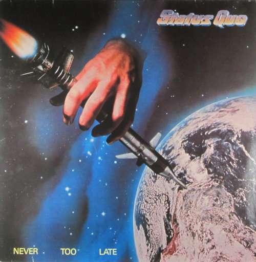 Cover zu Status Quo - Never Too Late (LP, Album) Schallplatten Ankauf