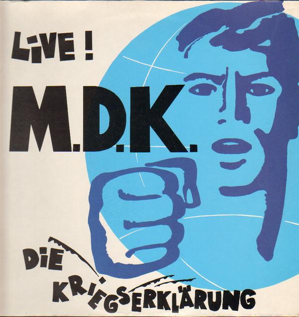Cover Mekanik Destrüktiw Komandöh* - Die Kriegserklärung - Live ! (LP, Album) Schallplatten Ankauf