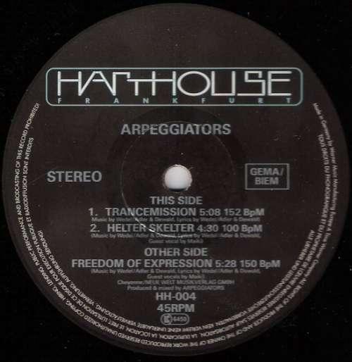 Cover Arpeggiators - Freedom Of Expression (12) Schallplatten Ankauf