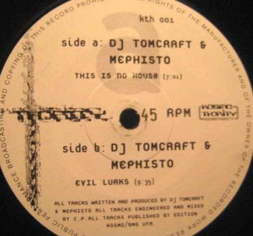 Bild DJ Tomcraft* & Mephisto (2) - This Is No House (12) Schallplatten Ankauf