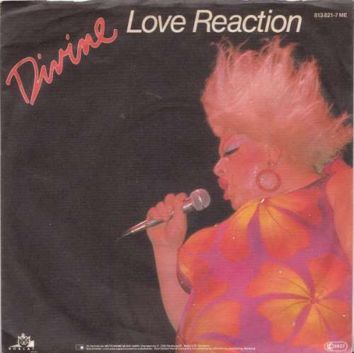 Cover zu Divine - Love Reaction (7, Single) Schallplatten Ankauf