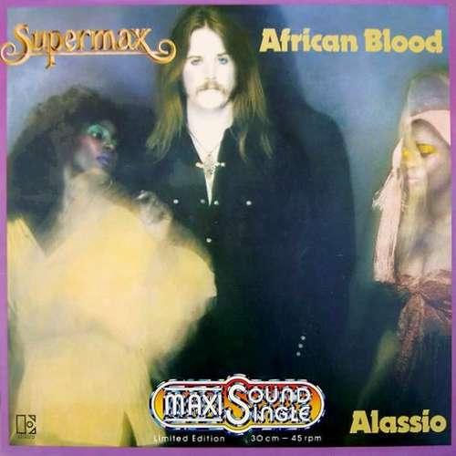 Cover Supermax - African Blood (12, Maxi, Ltd) Schallplatten Ankauf