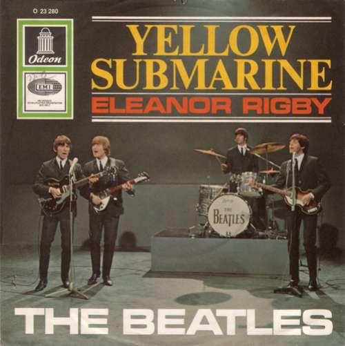 Cover The Beatles - Yellow Submarine / Eleanor Rigby (7, Single, Mono) Schallplatten Ankauf