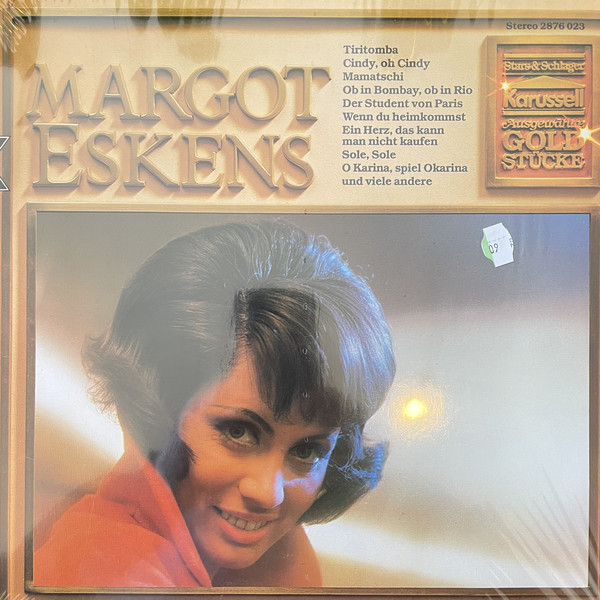 Cover Margot Eskens - Ausgewählte Goldstücke (LP, Comp) Schallplatten Ankauf