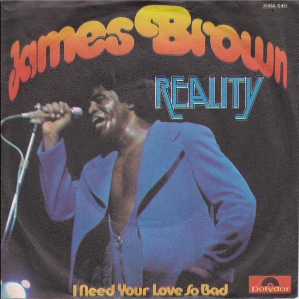 Bild James Brown - Reality (7, Single) Schallplatten Ankauf