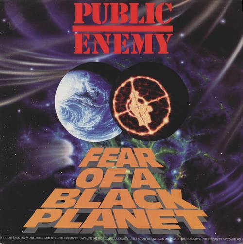 Cover Public Enemy - Fear Of A Black Planet (LP, Album) Schallplatten Ankauf