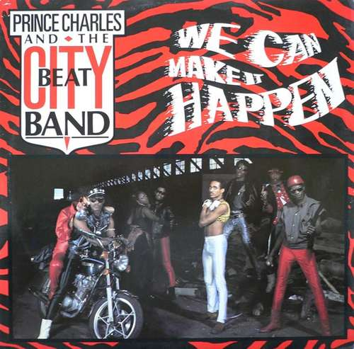 Cover Prince Charles And The City Beat Band - We Can Make It Happen (12) Schallplatten Ankauf