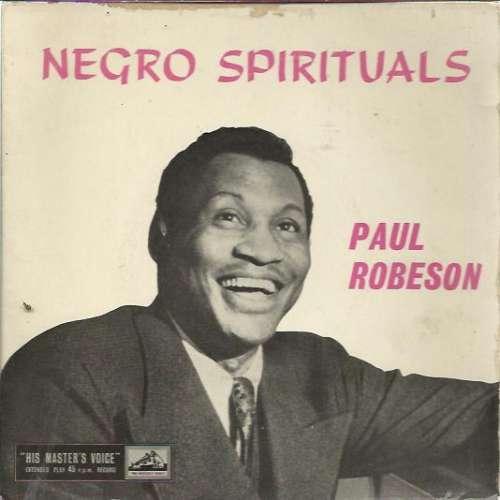 Cover zu Paul Robeson - Negro Spirituals (7, EP, RP) Schallplatten Ankauf