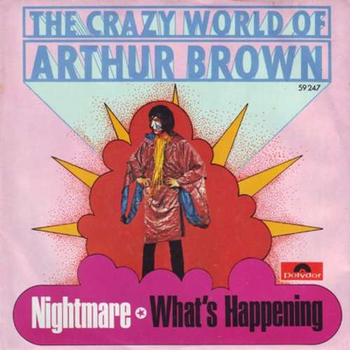 Bild The Crazy World Of Arthur Brown - Nightmare / What's Happening (7, Single, Promo) Schallplatten Ankauf