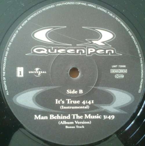 Cover QueenPen* - It's True (12) Schallplatten Ankauf