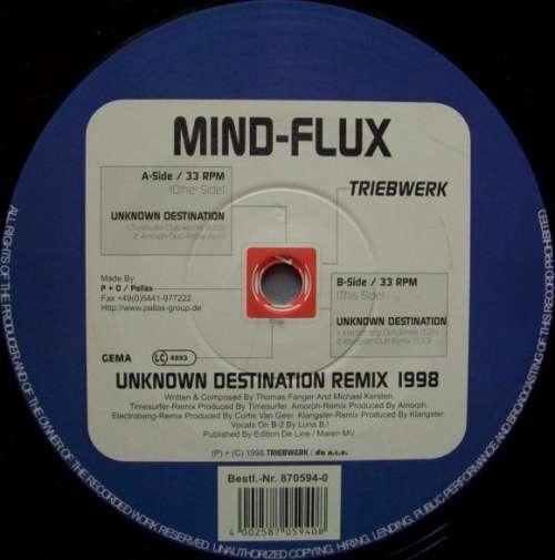 Cover Mind-Flux - Unknown Destination Remix 1998 (12, Maxi) Schallplatten Ankauf