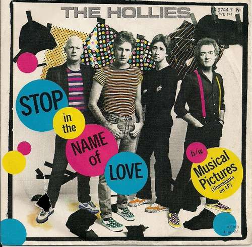 Bild The Hollies - Stop In The Name Of Love (7, Single) Schallplatten Ankauf