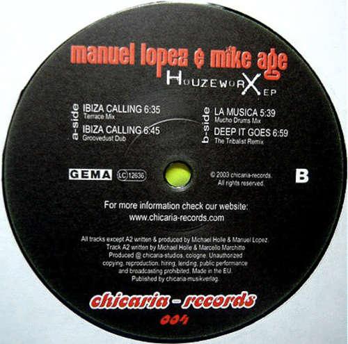 Bild Manuel Lopez & Mike Age - Houzeworx EP (12, EP) Schallplatten Ankauf