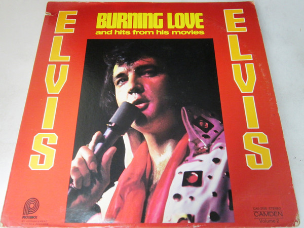 Cover zu Elvis Presley - Burning Love And Hits From His Movies Vol. 2 (LP, Comp) Schallplatten Ankauf