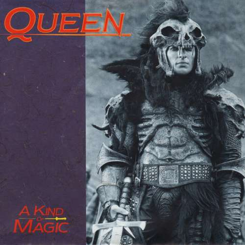 Cover Queen - A Kind Of Magic (7, Single) Schallplatten Ankauf