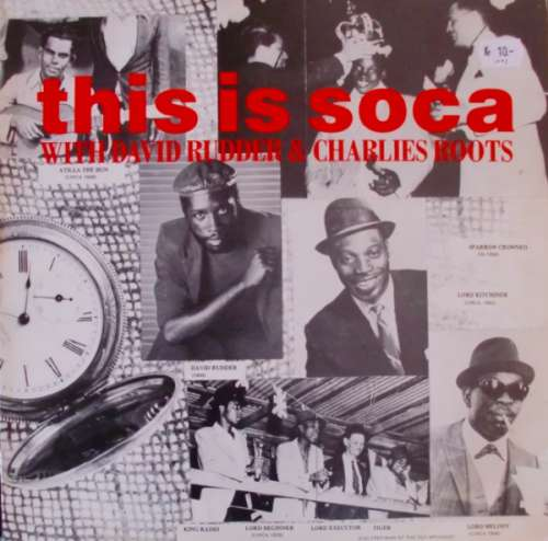 Cover Various / David Rudder & Charlies Roots - This Is Soca (2xLP, Comp) Schallplatten Ankauf