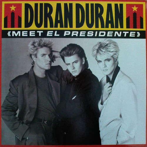 Cover Duran Duran - Meet El Presidente (12, Single) Schallplatten Ankauf
