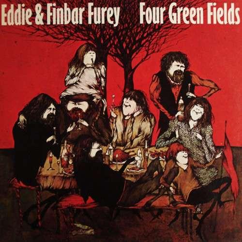 Cover Eddie & Finbar Furey* - Four Green Fields (LP, Album) Schallplatten Ankauf