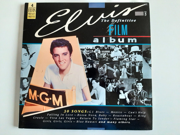 Cover Elvis Presley - The Definitive Film Album (2xLP, Comp, M/Print) Schallplatten Ankauf