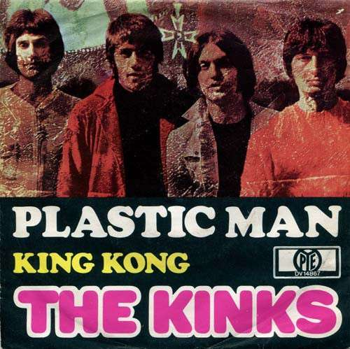 Cover The Kinks - Plastic Man (7, Single) Schallplatten Ankauf