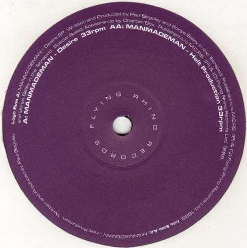 Cover ManMadeMan - Desire EP (12, EP) Schallplatten Ankauf
