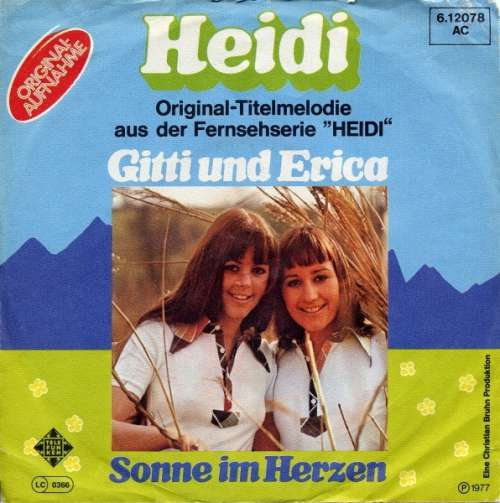 Bild Gitti Und Erica* - Heidi (7, Single) Schallplatten Ankauf