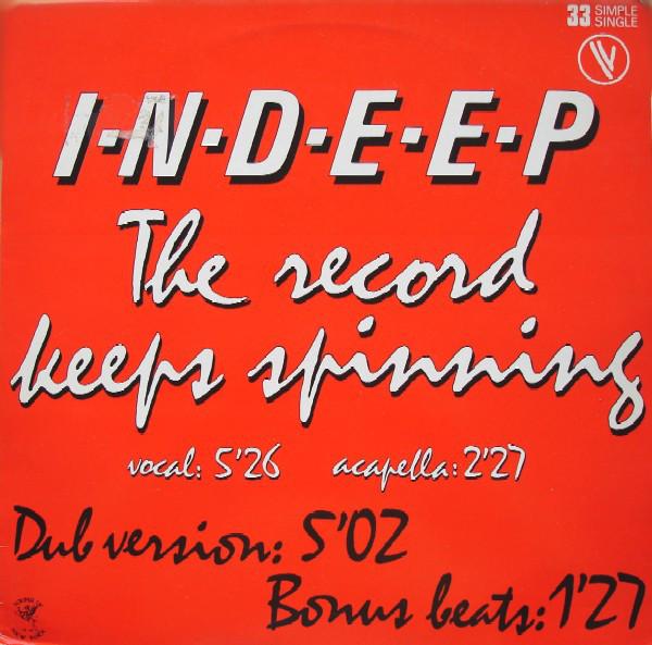 Bild Indeep - The Record Keeps Spinning (12, Single, Ltd) Schallplatten Ankauf