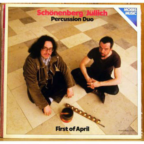 Cover zu Schönenberg/Jüllich Percussion Duo - First Of April (LP, Album) Schallplatten Ankauf