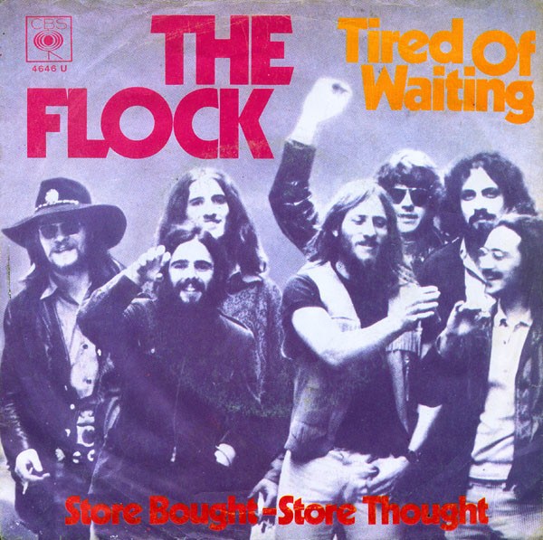 Cover The Flock - Tired Of Waiting (7) Schallplatten Ankauf