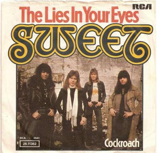 Cover zu Sweet* - The Lies In Your Eyes (7, Single) Schallplatten Ankauf