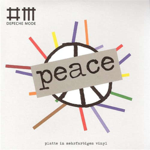 Cover Depeche Mode - Peace (7, Single, Ltd, Num, Gre) Schallplatten Ankauf