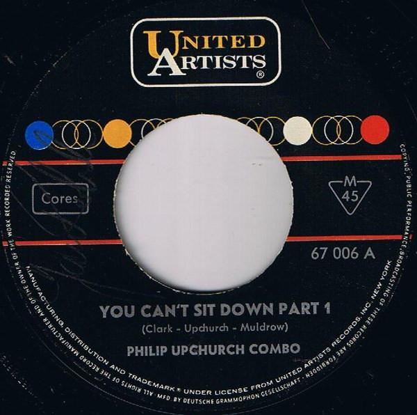 Bild Philip Upchurch Combo* - You Can't Sit Down (7, Single, Mono) Schallplatten Ankauf