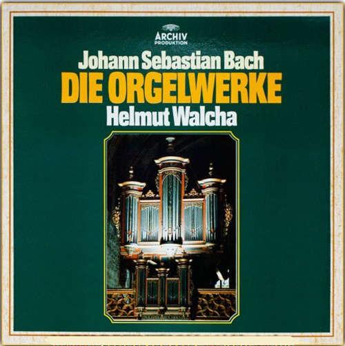 Bild Johann Sebastian Bach - Helmut Walcha - Die Orgelwerke (4xLP, Club + Box, Comp) Schallplatten Ankauf