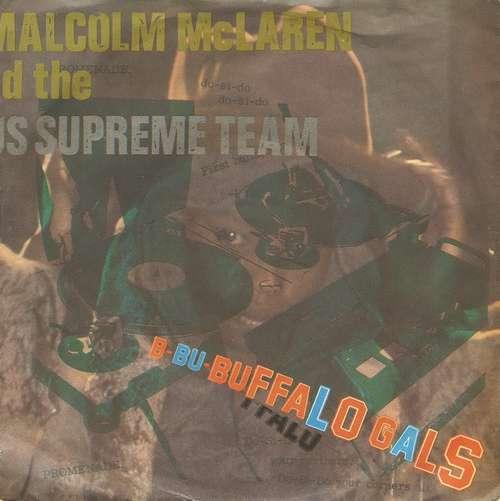 Cover Malcolm McLaren And The World's Famous Supreme Team* - Buffalo Gals (7, Single) Schallplatten Ankauf