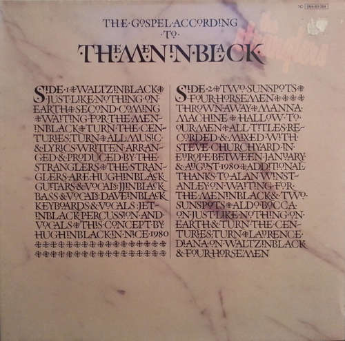 Cover The Stranglers - The Gospel According To The Meninblack (LP, Album, Gat) Schallplatten Ankauf