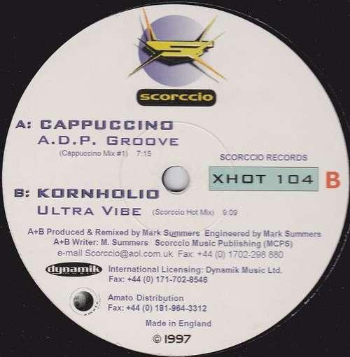 Bild Cappuccino / Kornholio - ADP Groove / Ultra Vibe (12) Schallplatten Ankauf