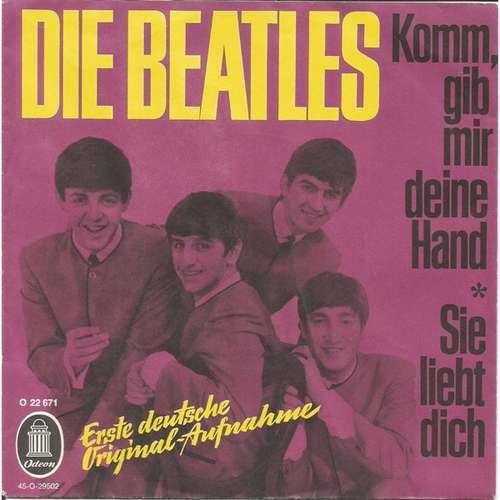 Cover Die Beatles* - Komm, Gib Mir Deine Hand / Sie Liebt Dich (7, Single, Mono) Schallplatten Ankauf