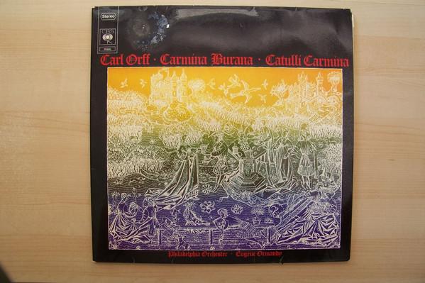 Cover zu Carl Orff - Carmina Burana - Catulli Carmina (2xLP) Schallplatten Ankauf