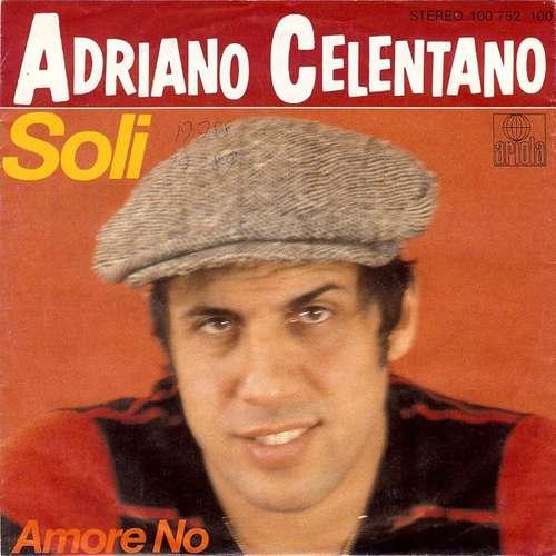 Cover zu Adriano Celentano - Soli (7, Single) Schallplatten Ankauf