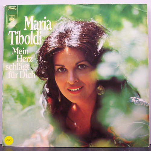 Cover Maria Tiboldi - Mein Herz Schlägt Für Dich (LP, Album, Gat) Schallplatten Ankauf