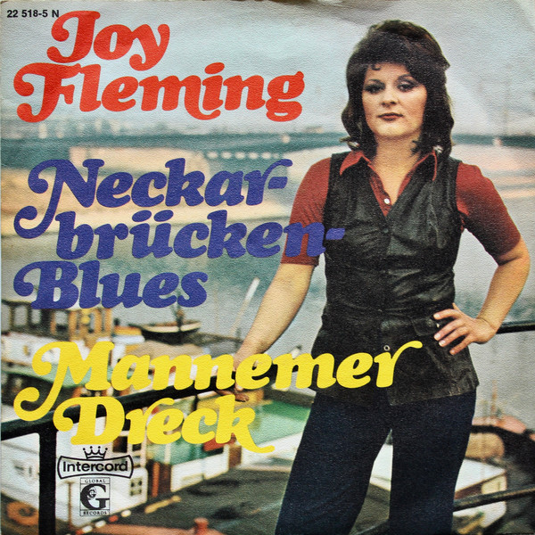 Cover zu Joy Fleming - Neckarbrücken-Blues / Mannemer Dreck (7, Single) Schallplatten Ankauf