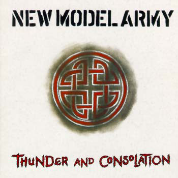 Cover New Model Army - Thunder And Consolation (LP, Album) Schallplatten Ankauf