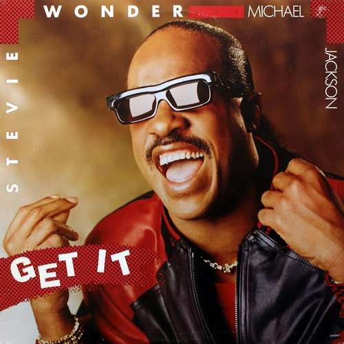 Cover Stevie Wonder And Michael Jackson - Get It (7, Single) Schallplatten Ankauf