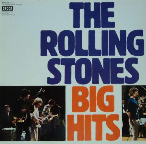 Cover The Rolling Stones - Big Hits (LP, Comp, RE, Club) Schallplatten Ankauf