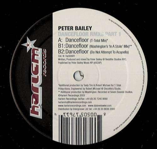 Bild Peter Bailey - Dancefloor (Remixes Part 1) (12) Schallplatten Ankauf