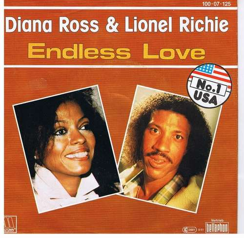 Bild Diana Ross & Lionel Richie - Endless Love (7, Single) Schallplatten Ankauf